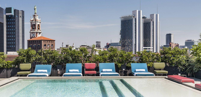 Foto: La vuelta al mundo en cinco azoteas, terrazas y 'beach clubs' con encanto deco