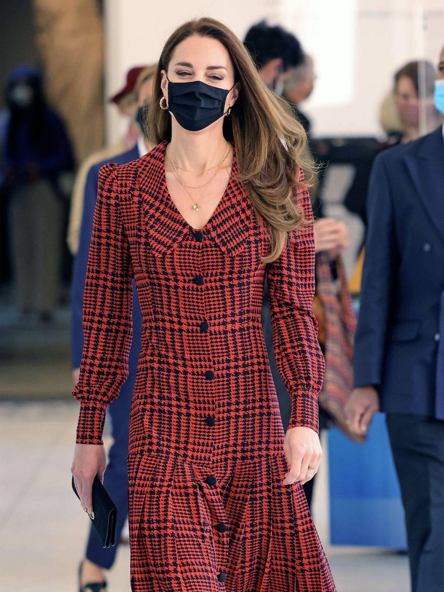 El look de Kate Middleton el pasado miércoles. (PA)