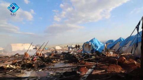 ¿Quién ha matado a decenas de sirios en un campo de refugiados?