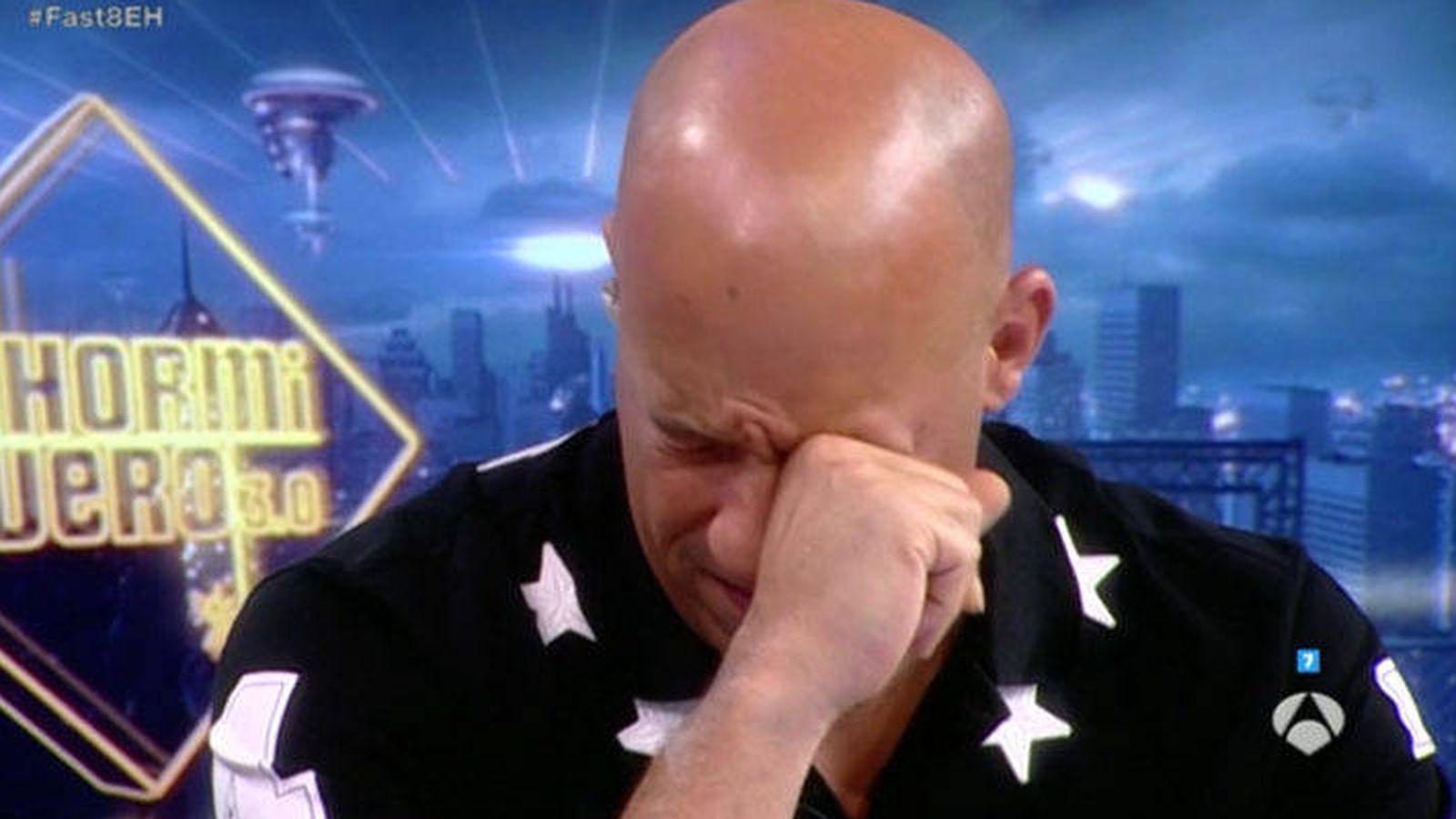 Foto: Vin Diesel se emociona en 'El hormiguero' al recordar a Paul Walker.