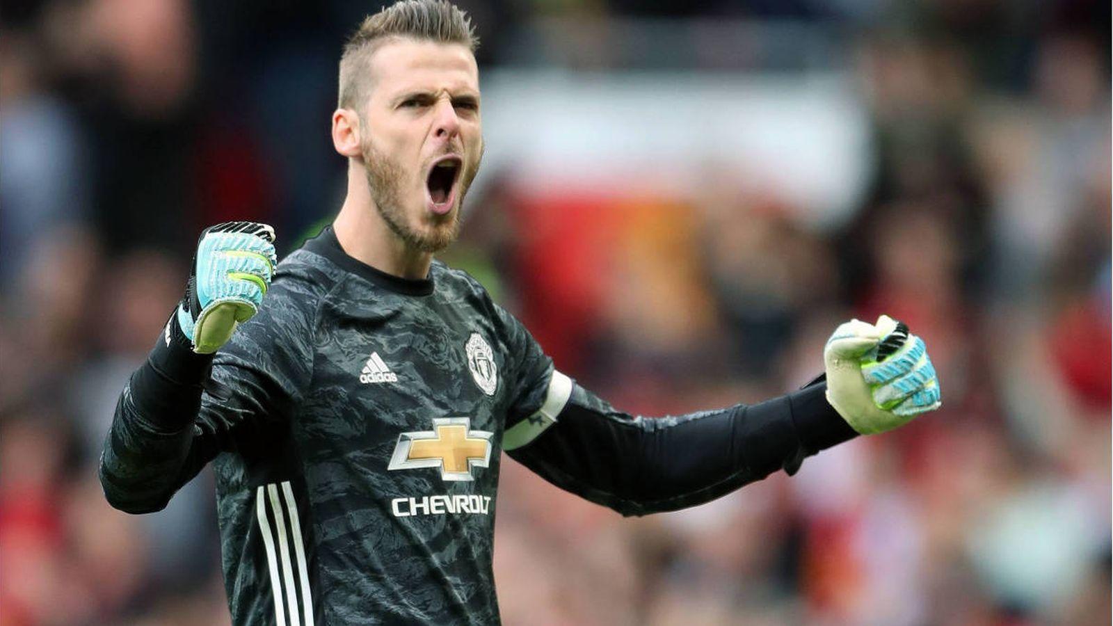 Foto: De Gea, durante un partido con el Manchester United. (Reuters)