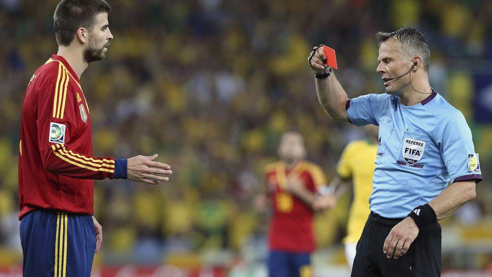 Piqué, un nota sin 'seny' que busca la expulsión de la selección española