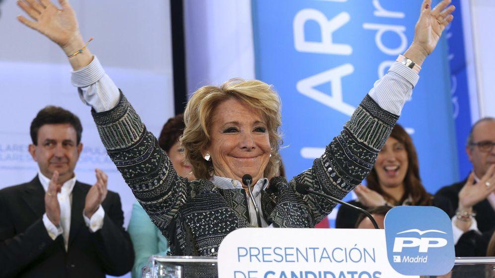 Foto: La presidenta del PP de Madrid y candidata a la Alcaldía, Esperanza Aguirre. (Efe)