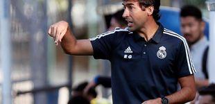 Post de La meteórica carrera de Raúl hacia el Bernabéu: van cuatro ascensos en un año