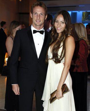 Foto: Jenson Button rompe con Jessica Michibata
