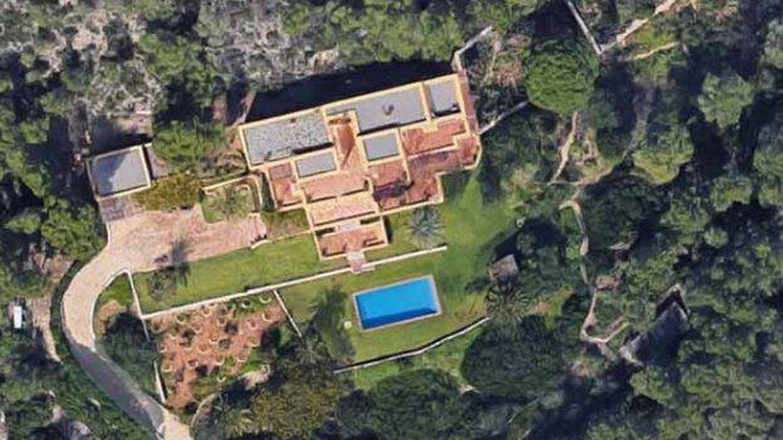 Vista satélite de la casa de Ángel Nieto. (Google Maps)