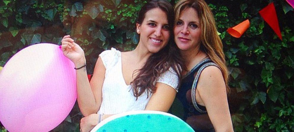 Foto: Nuria Soler y su hija Carlota este fin de semana en la 'baby shower' (Instagram)