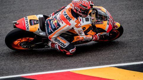 Márquez alarga su dominio en Sachsenring con su quinta 'pole' seguida