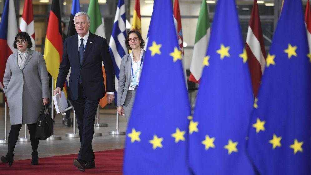 Foto: Michel Barnier, negociador jefe de la Unión Europea, durante una reunión en Bruselas, el 25 de noviembre de 2018. (Reuters)