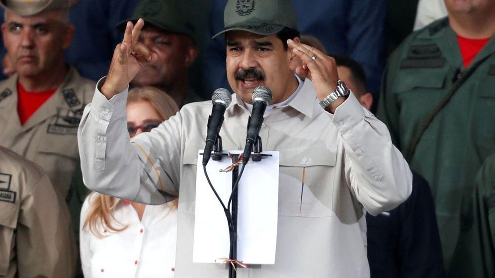 Photo: Nicolás Maduro.  (Reuters)