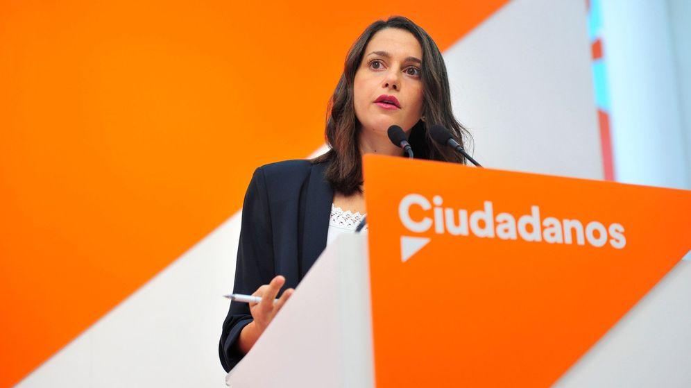 Foto: La portavoz nacional de Ciudadanos, Inés Arrimadas. (EFE)