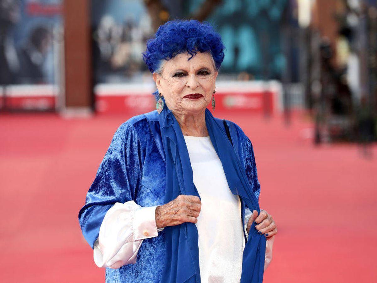 Foto: Lucía Bosé, en una imagen de octubre de 2019. (Getty)
