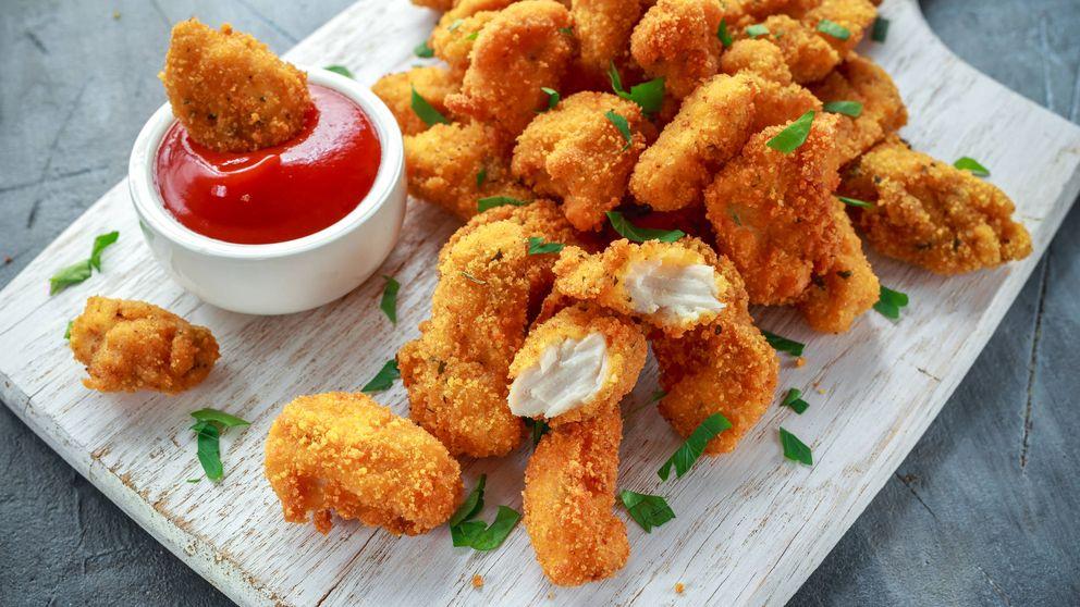 Nuggets de pollo y verduras: a esta cena nadie se resiste