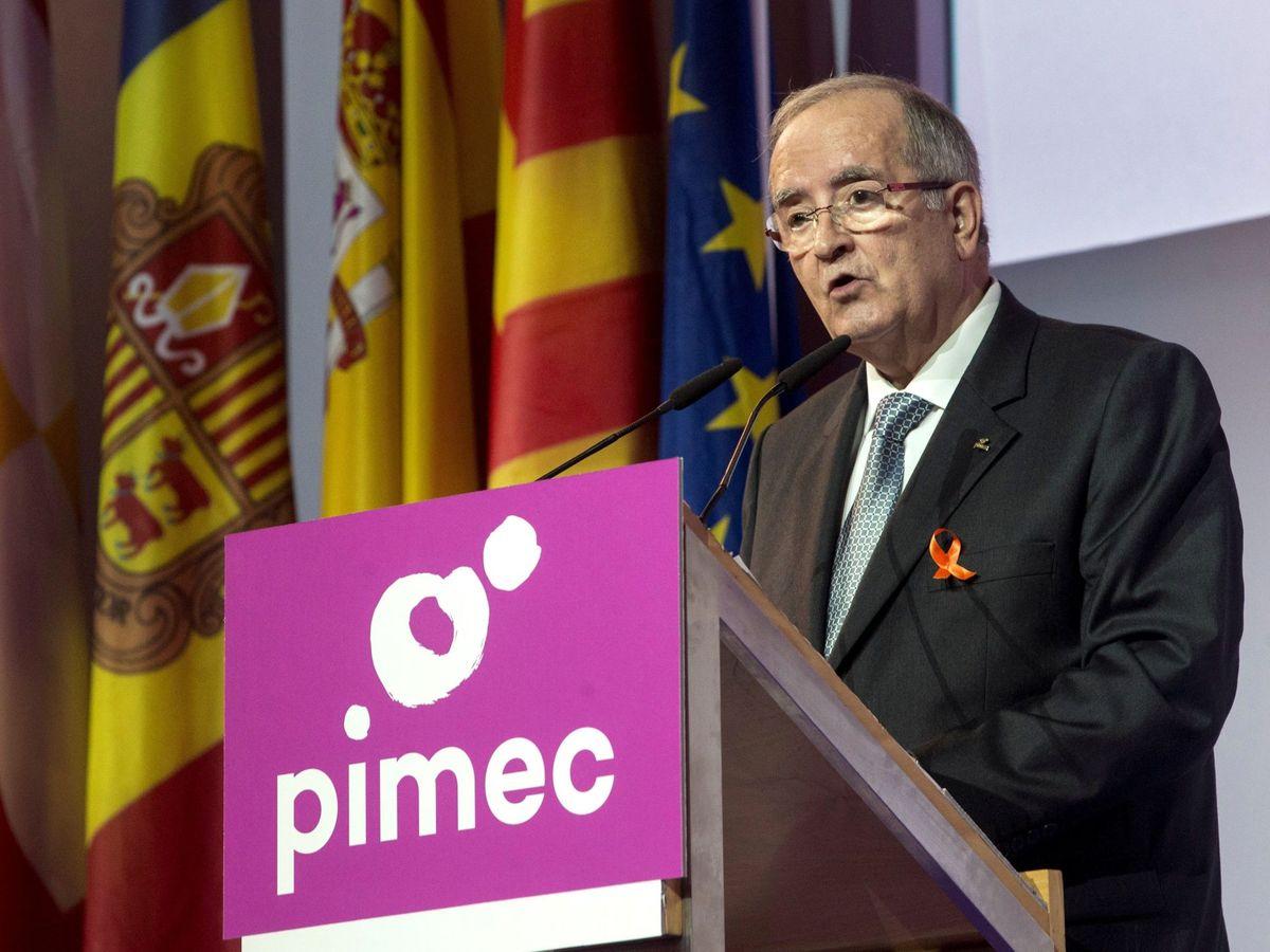 Foto: El presidente de Pimec, Josep Gonzaléz. (EFE)