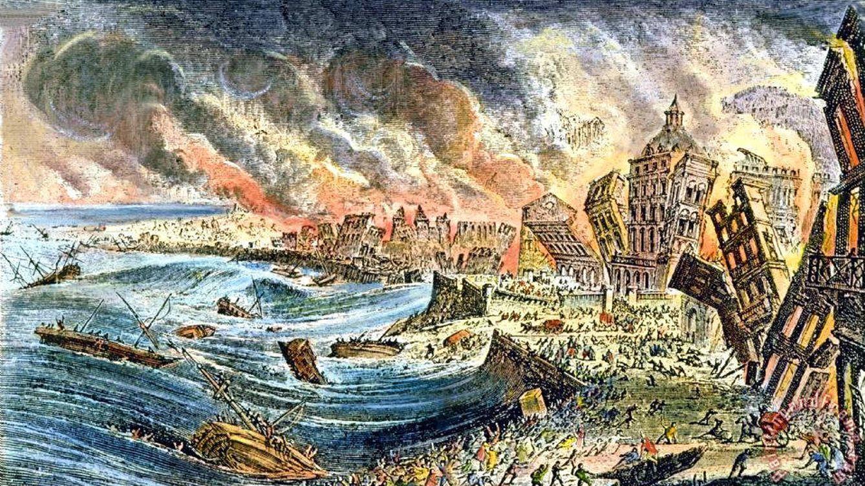 Sodoma y Gomorra en el Tajo: el terremoto que destruyó Lisboa y golpeó a la Ilustración