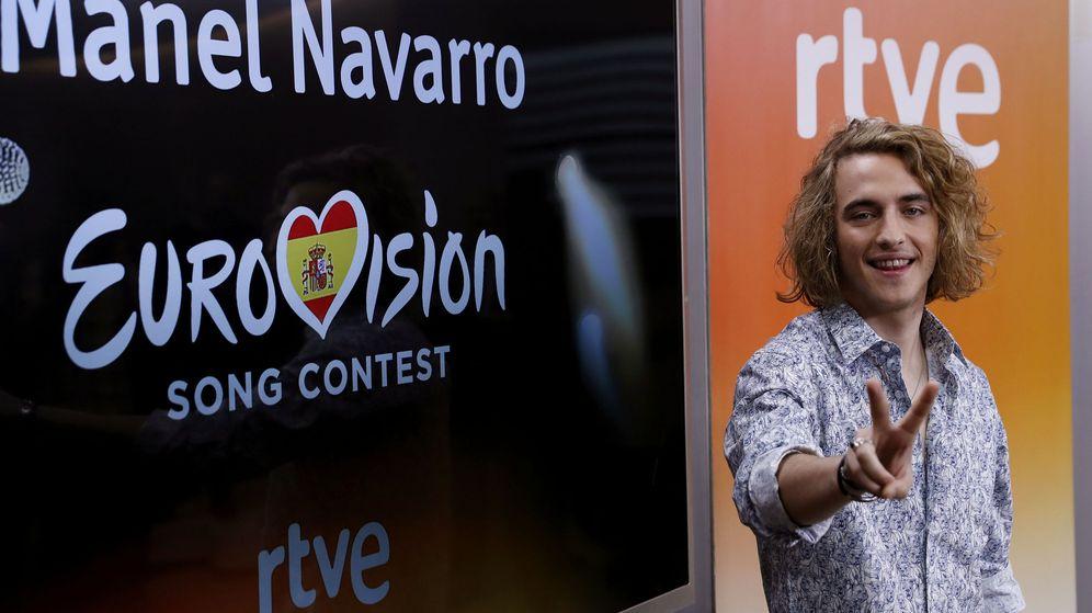Foto: Manel Navarro, candidato de España en el festival de Eurovisión. (EFE)