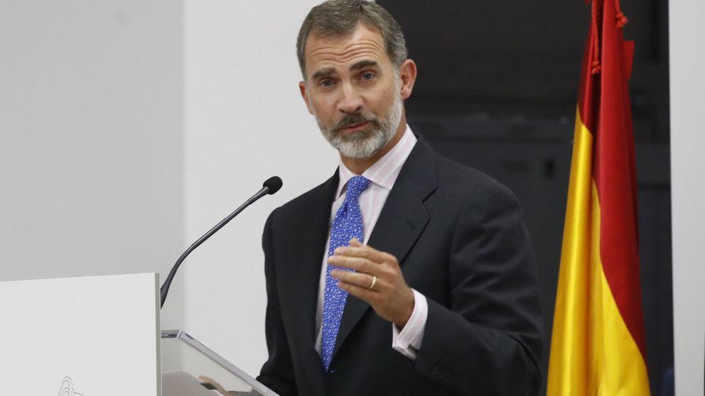 El Rey despeja su agenda para seguir desde Zarzuela la crisis en Cataluña