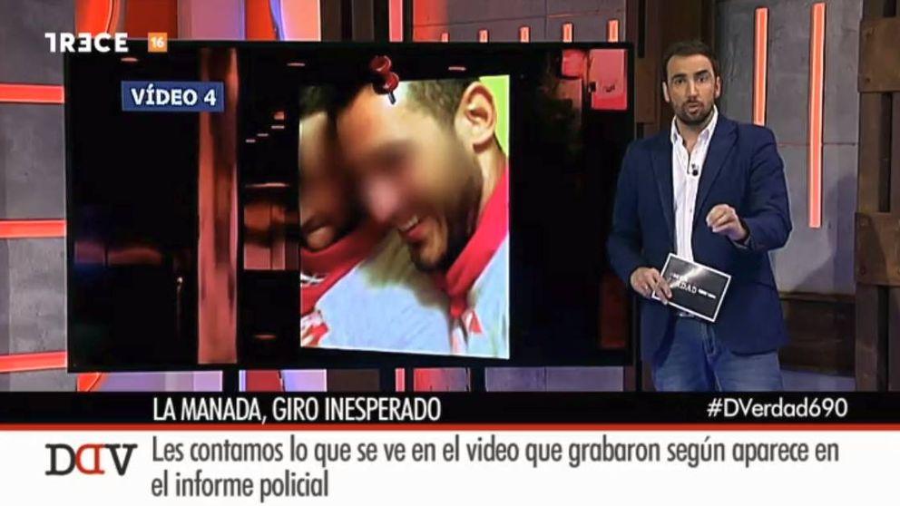 'Detrás de la verdad' desata la polémica por el tratamiento al vídeo de la Manada