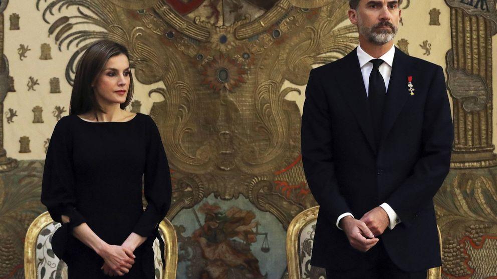 """Casa Real, sobre el papel de Letizia ante los atentados: """"Es lo que corresponde"""""""