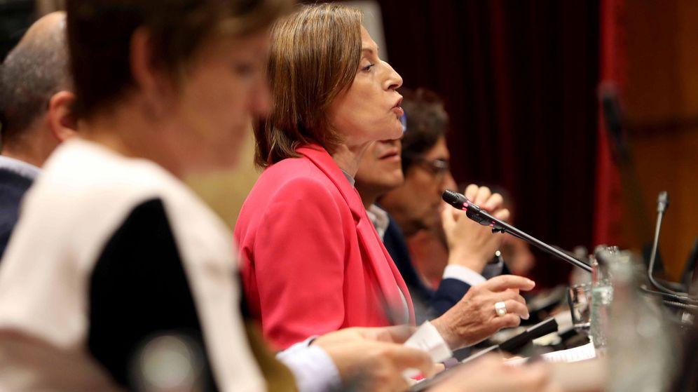 Foto:  La presidenta del Parlament, Carme Forcadell. (EFE)