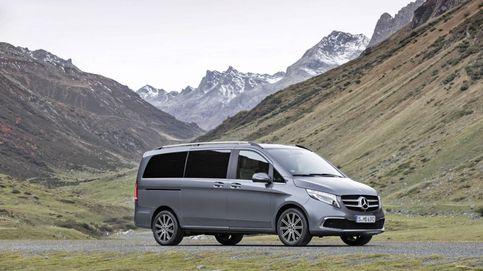 Hasta ocho plazas en el Mercedes Clase V