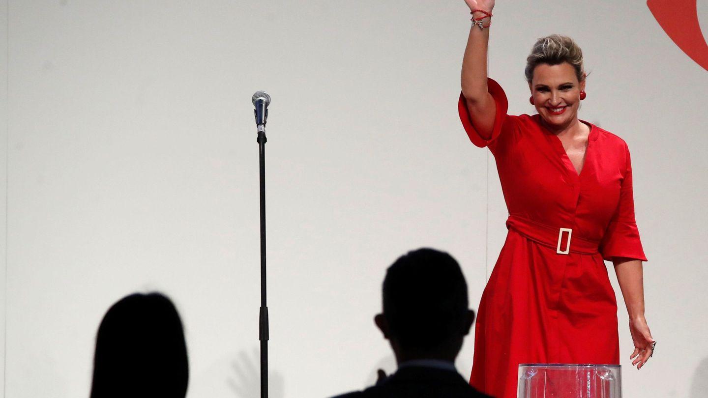 La conocida soprano, actuando en Fitur. (EFE)