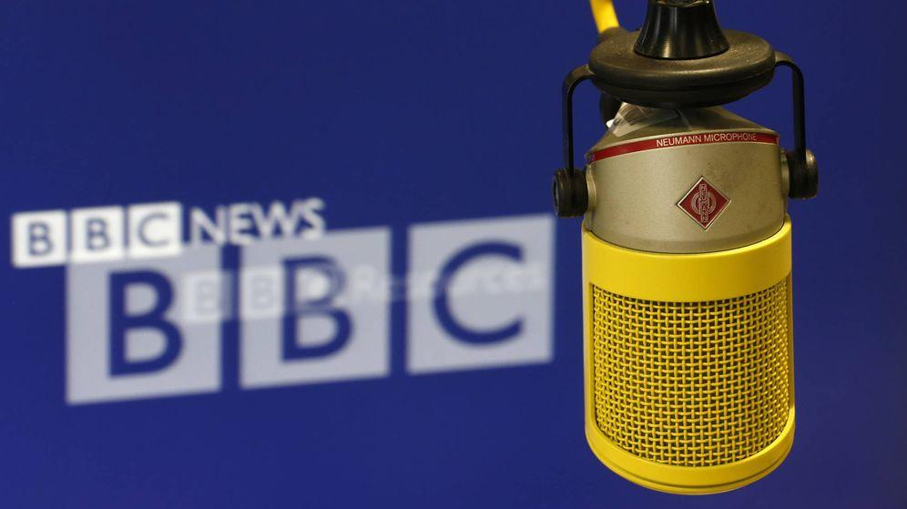 Foto: Micrófono de la BBC. (Reuters)