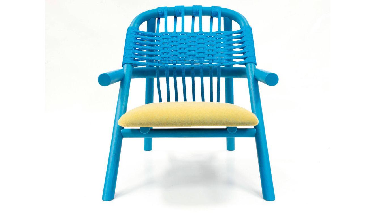 Foto: La silla Unam es un asiento para relajarse y olvidarse de todo aquello que nos rodea.