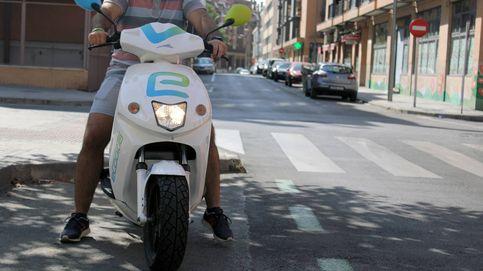 eCooltra limita por seguridad las áreas de uso de sus motos de alquiler en Barcelona