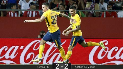 Giménez salva al Atlético del primer desastre de la temporada en Girona