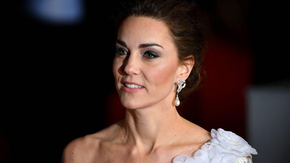Foto: La duquesa de Cambridge en los BAFTA. (Getty)
