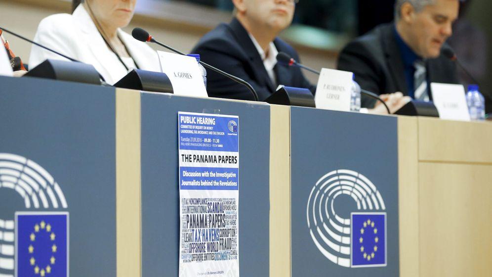 Foto: Imagen de la primera reunión de la comisión de investigación sobre los papeles de Panamá en el Parlamento Europeo. (Efe)