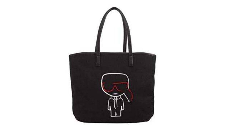 Shopper de Karl Lagerfeld. (Cortesía)