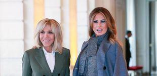 Post de Melania Trump y Brigitte Macron: su almuerzo privado en un restaurante de lujo