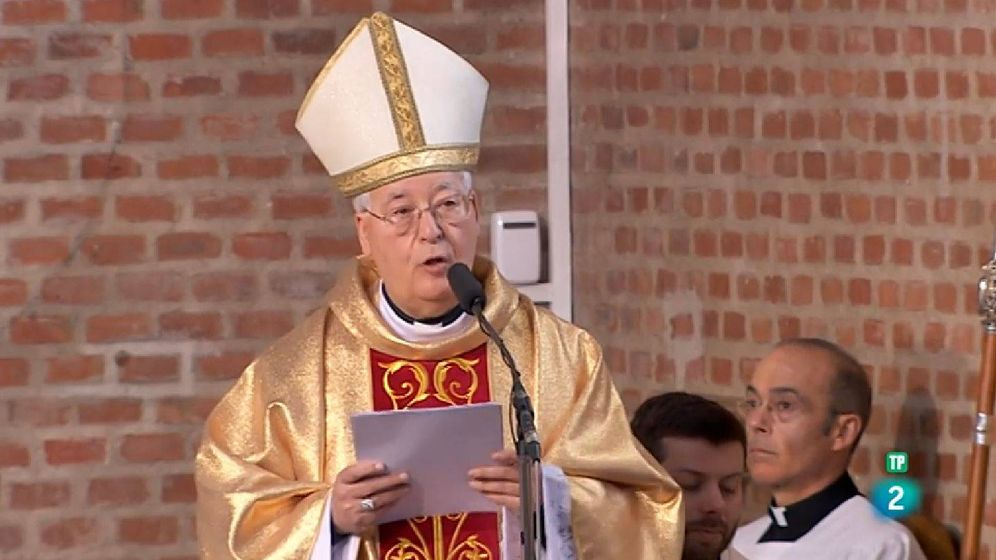Foto: El obispo Juan Antonio Reig Pla. (RTVE)