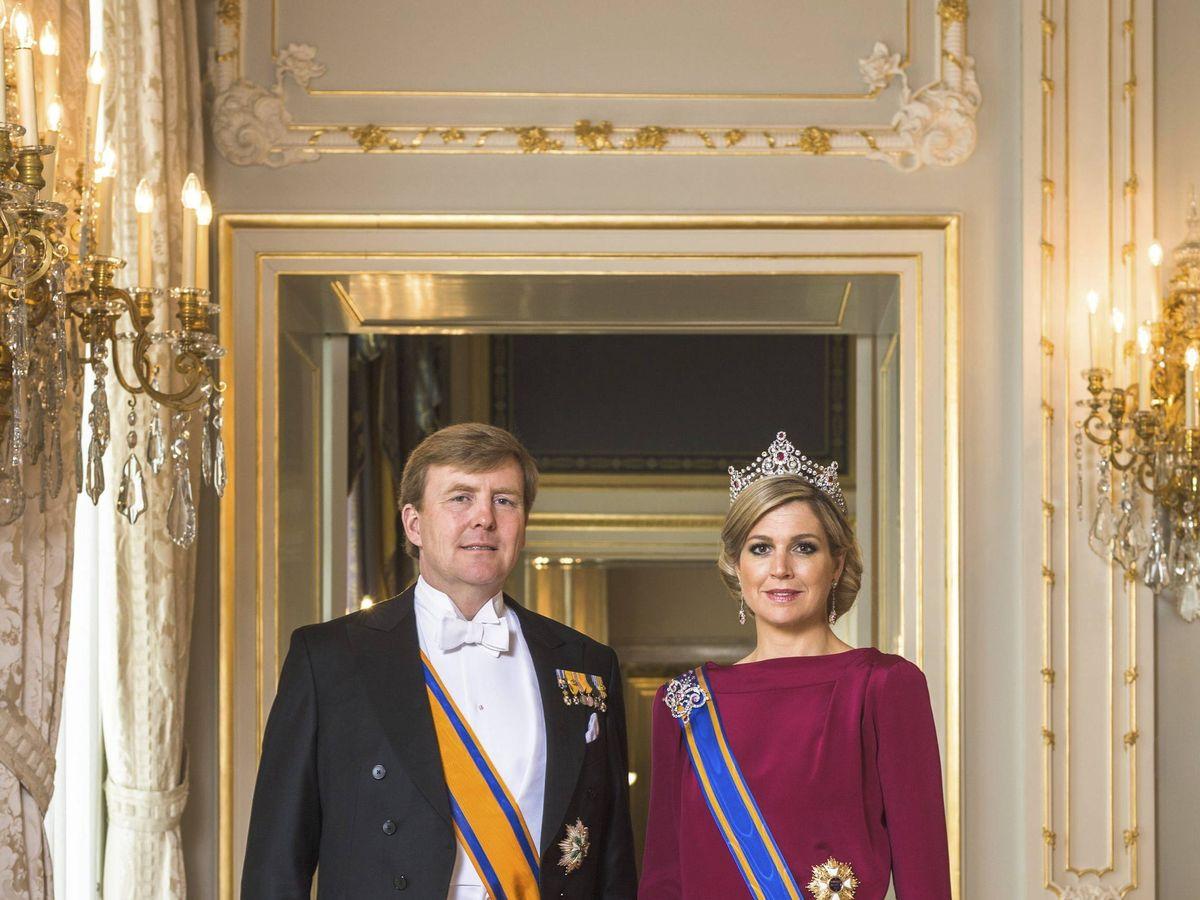 Foto: Los reyes de Holanda, el día de su investidura. (EFE)
