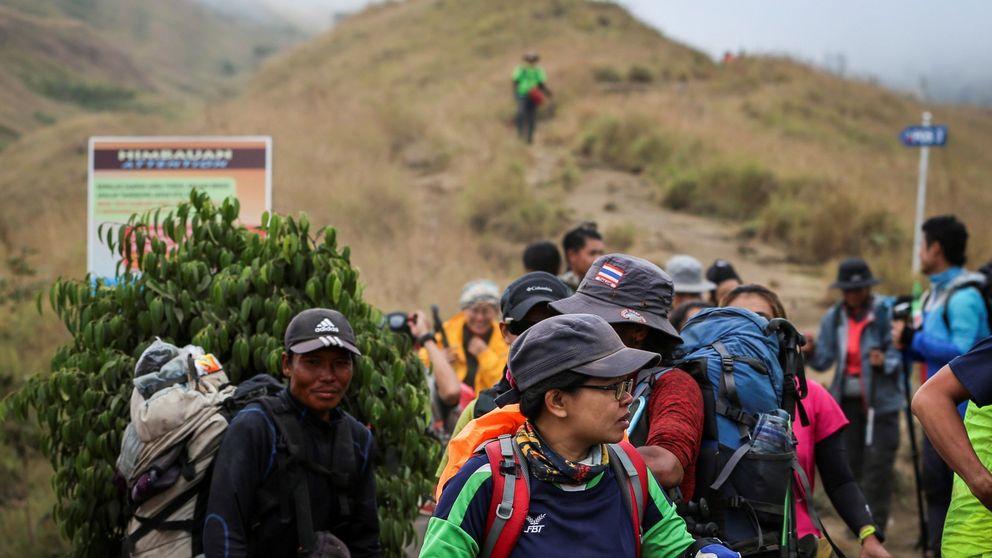 El terremoto de Indonesia deja 16 muertos, más de 300 heridos y casi 700 bloqueados en el monte Rinjani