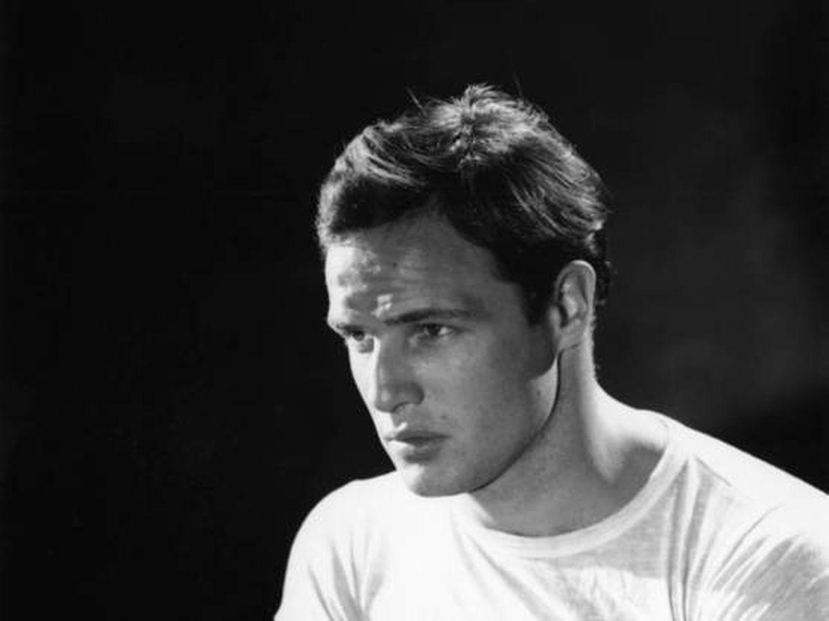 Foto:  Un joven Marlon Brando, en los años 50. (Cordon Press)
