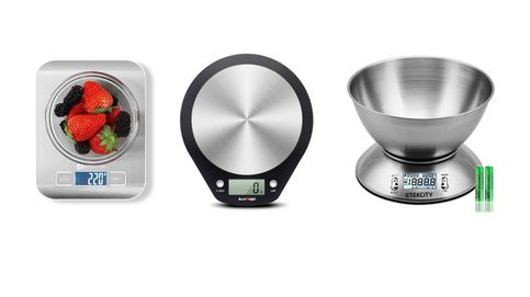 Básculas digitales para grandes cocineros que quieren pesar en pequeñas balanzas