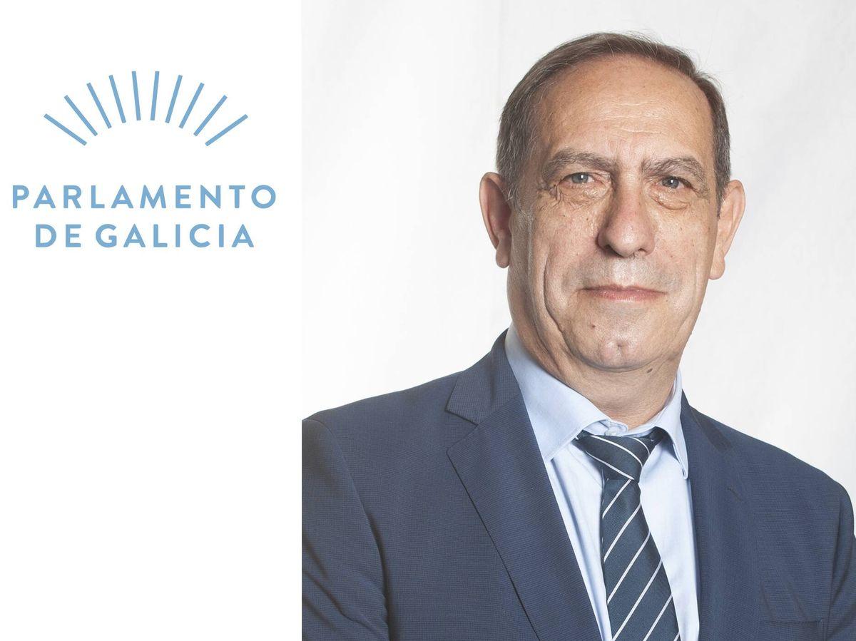 Foto: Valeriano Martínez. en una fotografía como candidato al Parlamento gallego (PP de Galicia)