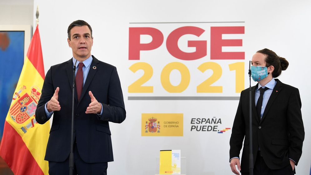 Foto: El presidente del Gobierno, Pedro Sánchez (i), y el vicepresidente segundo, Pablo Iglesias. (EFE)