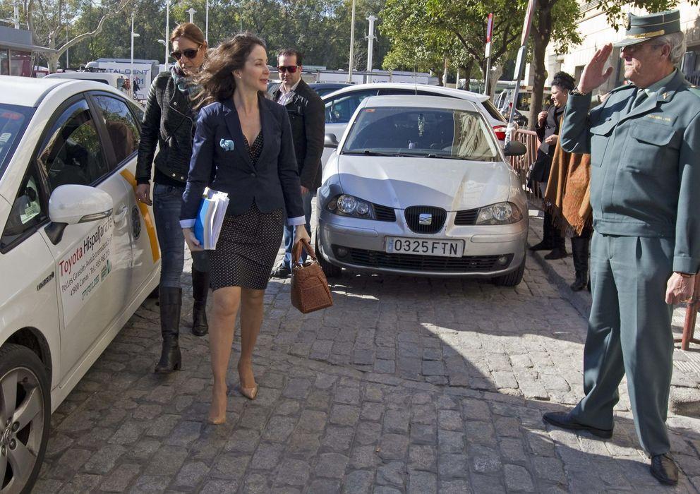 Foto: La juez Mercedes Alaya, ante los juzgados de Sevilla. (Efe)