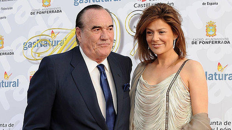 Fernández Tapias y Nuria González, en una imagen de archivo. (Getty)