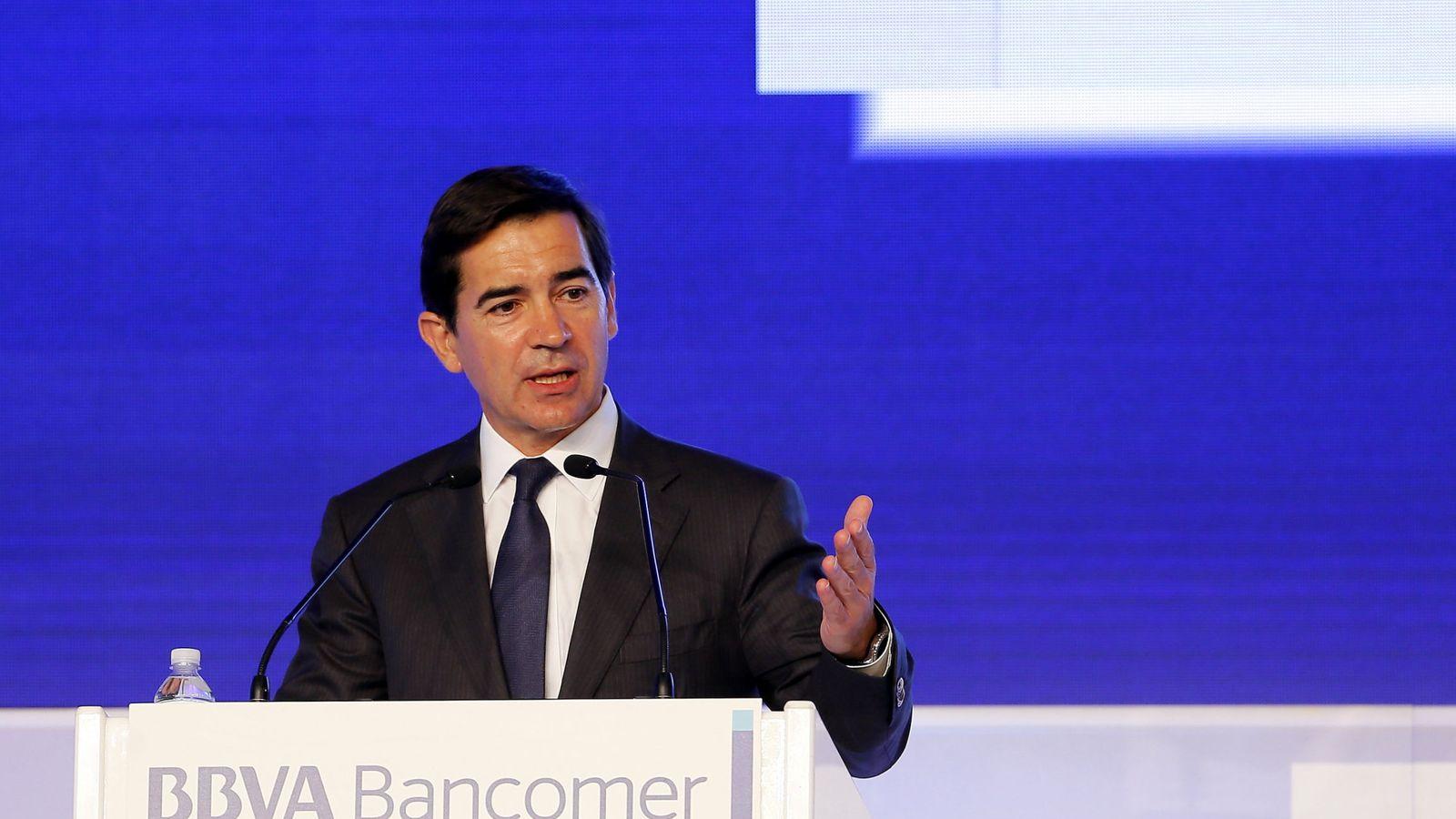 Foto: El consejero delegado del Grupo BBVA, Carlos Torres. (EFE)