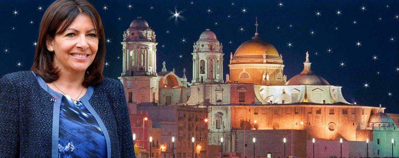 La Navidad de Anne Hidalgo en Cádiz tras su año más duro como alcaldesa de París