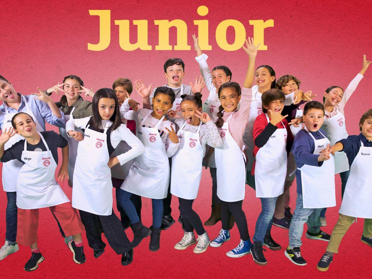 Foto: Concursantes de 'MasterChef Junior'. (RTVE)