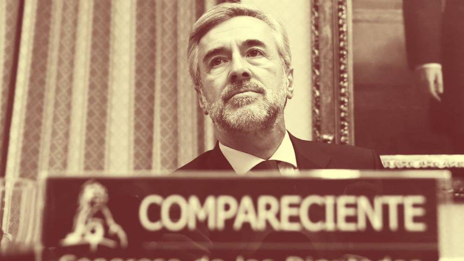 Foto: El ex secretario general del PP y exministro del Interior Ángel Acebes. (EFE)