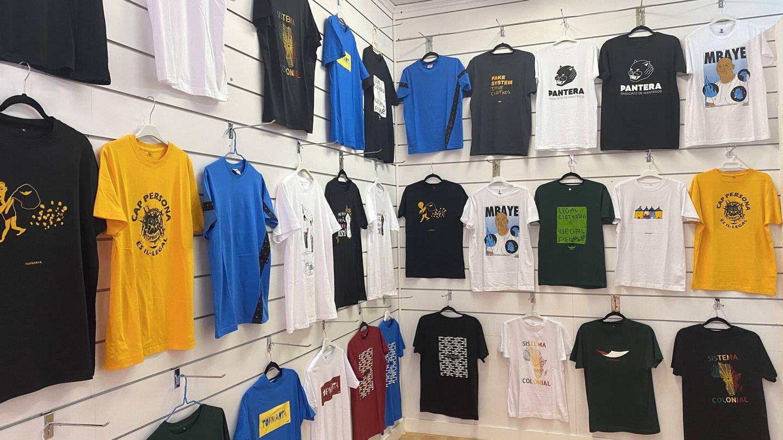 Interior de la tienda Pantera, en Lavapiés. (S. M.)