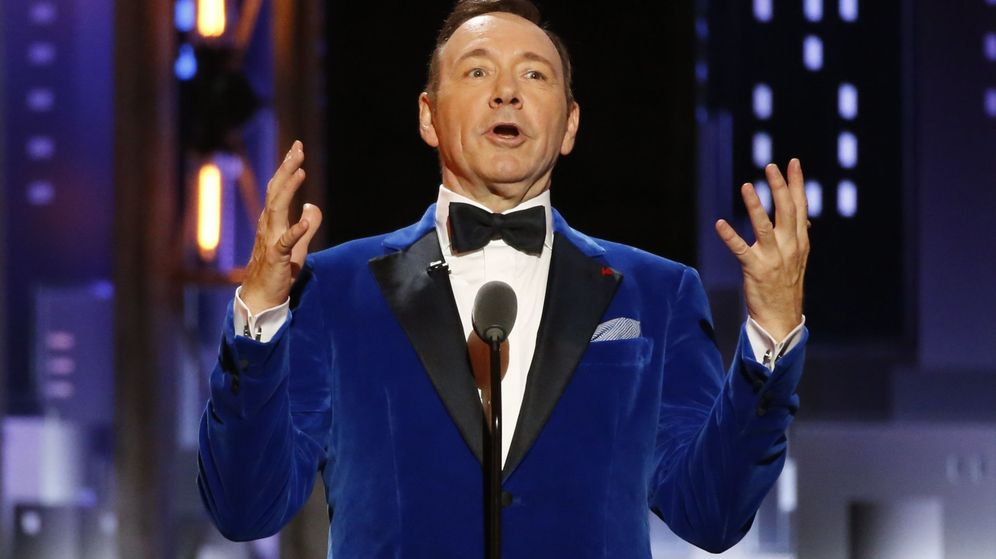 Foto: El actor Kevin Spacey en los Tony Awards. (Reuters)