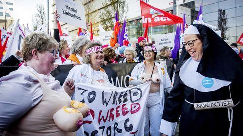 Huelga nacional de hospitales en Holanda